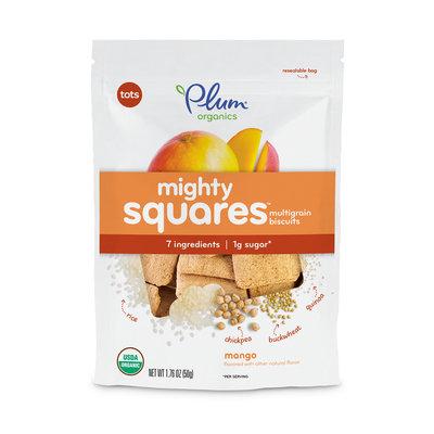 Plum Organic Mighty Squares™  Mango Multigrain Biscuits