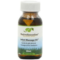 Native Remedies IMO001 Infant Massage Oil for Newborns Under 12 Weeks - 30ml
