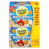 NABISCO Honey Maid Angry Birds Honey Munchpack 12 pk