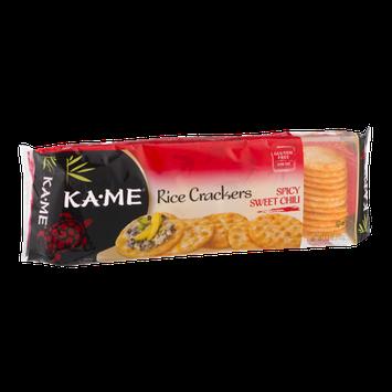 KA-ME Rice Crackers Spicy Sweet Chili