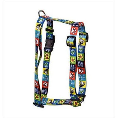 Yellow Dog Design H-PFP100XS Pets for Peace Roman Harness - Extra Small
