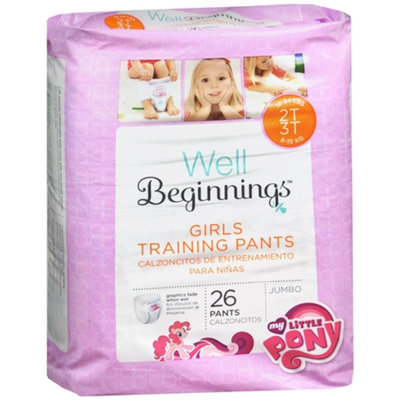 Walgreens Premium Training Pants Girl 2T/3T