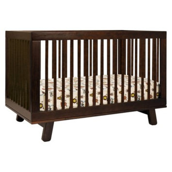 Babyletto 3-in-1 Convertible Crib with Toddler Rail - Espresso