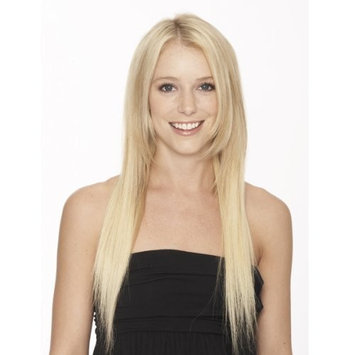 Evita 100% Human Hair Six Piece Clip In Extension 18 Inch Color 613
