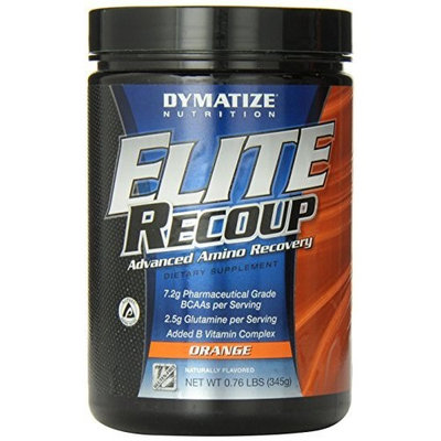 Dymatize Nutrition Elite Recoup, Orange, 0.76 lb. Conatiner