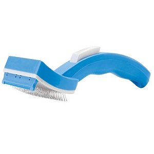 PetZoom Self Cleaning Grooming Brush for Dogs & Cats