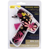 Ad-tech Designer Mini Glue Gun-High Temp Daisy Print