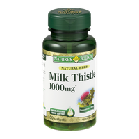 Nature's Bounty Milk Thistle 1000mg Herbal Supplement Softgels - 50 CT