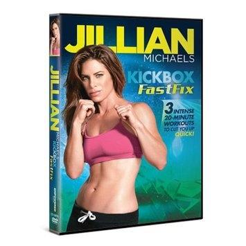 Jillian Michaels Kickbox Fastfix DVD