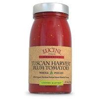 Lucini Italia Tuscan Plum, Whole, Peeled 25.5 oz (Pack Of 6)