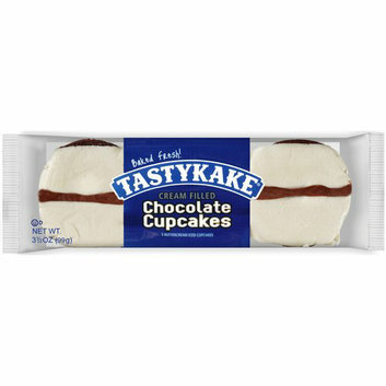 Tastykake Buttercream Iced Chocolate Cupcakes