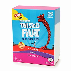 Clif Kid Organic Twisted Fruit Variety Pack