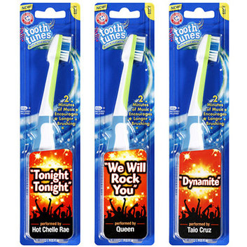 Arm & Hammer Tooth Tunes Soft Toothbrush with Songs by Queen