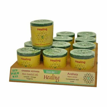 Aloha Bay Chakra Votive Candles - Case of 12