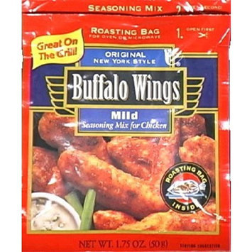 Frenchs Buffalo Wings Seasoning Mix for Chicken, Mild, 1.75-Ounce Packets (Pack of 12)