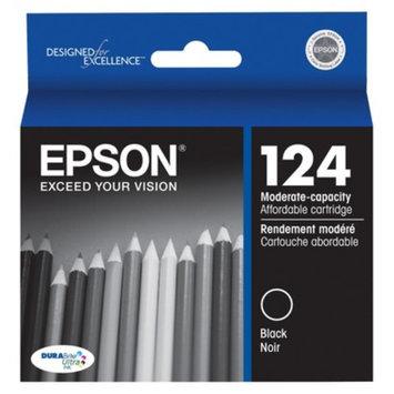 Epson 124 Moderate Capacity Black Ink Cartridge