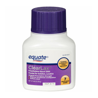 Equate Clearlax Laxative Solution
