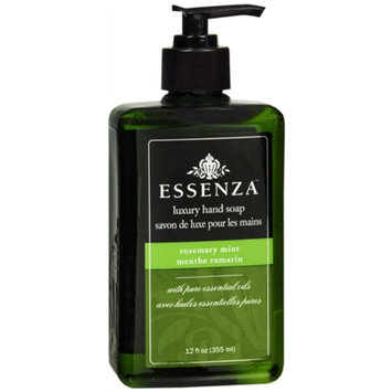 Essenza Luxury Hand Soap, Rosemary Mint, 12 fl oz