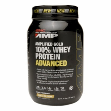 Gnc GNC Pro Performance AMP Amplified Gold 100% Whey Protein Advanced - Vanilla Ice Cream