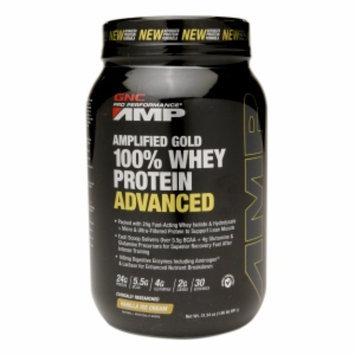 Gnc GNC Pro Performance AMP Amplified Gold 100% Whey Protein Advanced - Vanilla Ice Cream