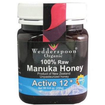 Wedderspoon 100% Raw Manuka Honey Active 12 Plus, 8.8 Ounce