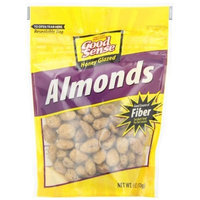 Good Sense Honey Glazed Almonds, 6 Ounce Bags (Pack of 6)