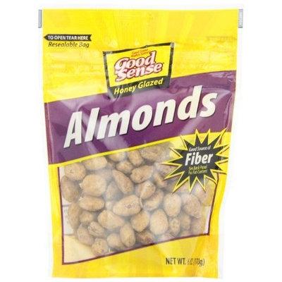 Good Sense Honey Glazed Almonds, 6 Ounce Bags (Pack of 6)