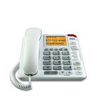 RCA 1124-1WTGA Legend Series Amplified Big Button Phone with Caller ID