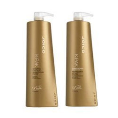 Joico K-pak Shampoo and Conditioner Liter Duo 33.8 oz Set