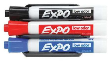 BRADY 112632 DRYERASE MARKERS AND ERASER