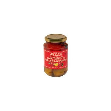 Alessi Fire Roasted Red & Yellow Peppers (Case of 12)