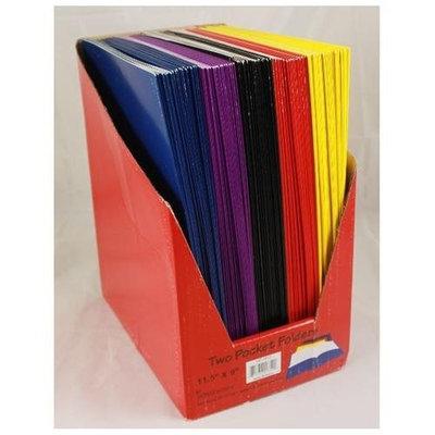 DDI Premium Two Pocket Folders - 8.5 X 11 Case Pack 100