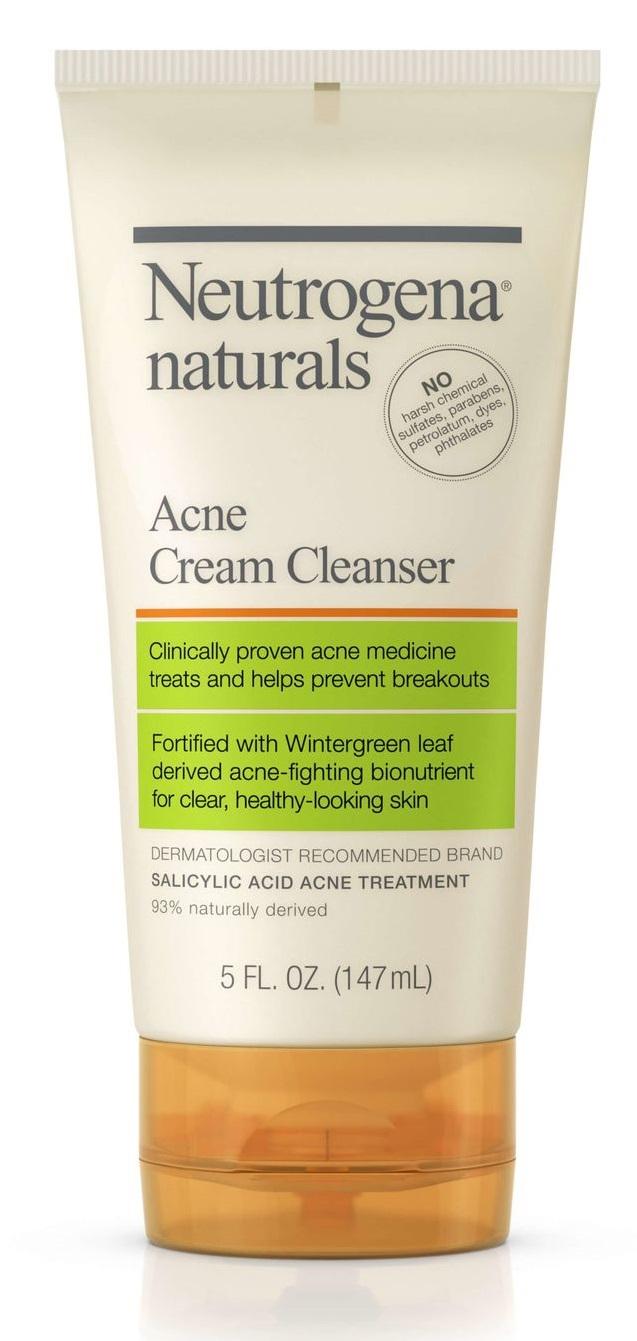 Neutrogena® Naturals Acne Cream Cleanser