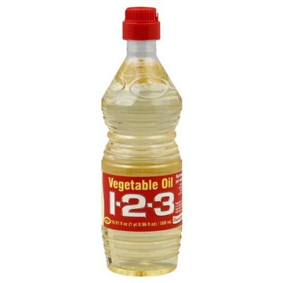 1 2 3 Cooking Oil, 16.91-Ounce (Pack of 24)