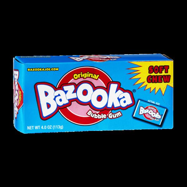 Bazooka Soft Chew Original Bubble Gum