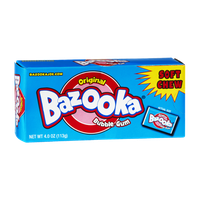 Bazooka Soft Chew Original Bubble Gum