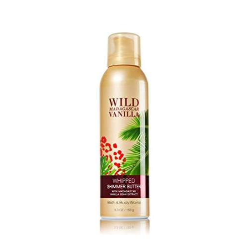 Bath & Body Works Bath and Body Works Wild Madagascar Vanilla Whipped Shimmer Butter 5.3 Oz
