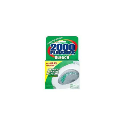 Wd-40 2000 Flushes Chlorine Automatic Concentrated Toilet Bowl Cleaner 290071 - Pack of 12