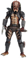 NECA Predator 2 - 1/4 Scale Action Figure - Unmasked Open Mouth City Hunter (Series 2)