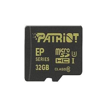 PATRIOT Patriot EP Series - Flash memory card - 32 GB - UHS Class 3 / Class10 - microSDHC UHS-I