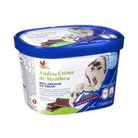 Ahold Andes Creme de Menthe Real Premium Ice Cream