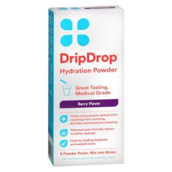 Drip Drop Hydration Powder, Berry, 8 ea
