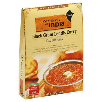 Kitchens of India Bukhara, Black Gram Lentil Curry, Boxes, 10 OZ (Pack of 6)