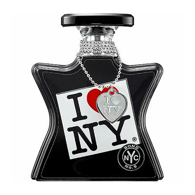 I LOVE NEW YORK by Bond No. 9 I LOVE NEW YORK for All Limited Edition with Necklace and Silver Heart 3.3 oz Eau de Parfum Spray