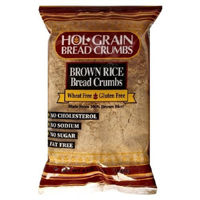 Holgrain Bread Crumbs, Rice, 4-Ounce Packages (Pack of 12)