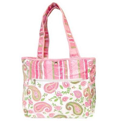 Trend Lab Paisley Tulip Tote Diaper Bag
