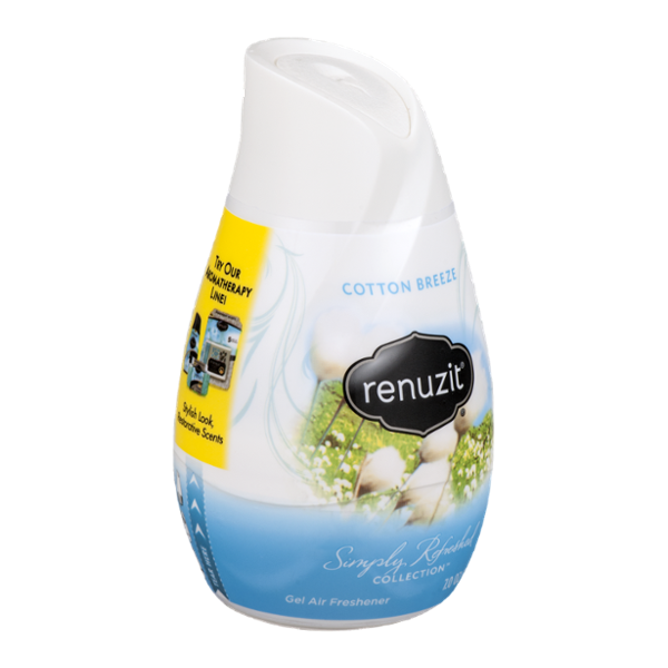 Renuzit Simply Refreshed Collection Gel Air Freshener Cotton Breeze