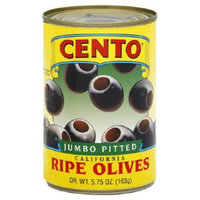 Cento Pitted Jumbo Olives, 5.75-Ounce (Pack of 24)