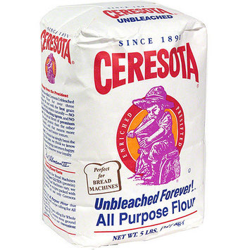 Selecta Unbleached Flour, 4.4 lb (Pack of 8)