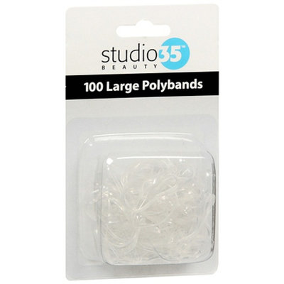 Studio 35 Clear Large Polybands
